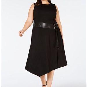 Calvin Klein Plus Size Lux Stretch Dress